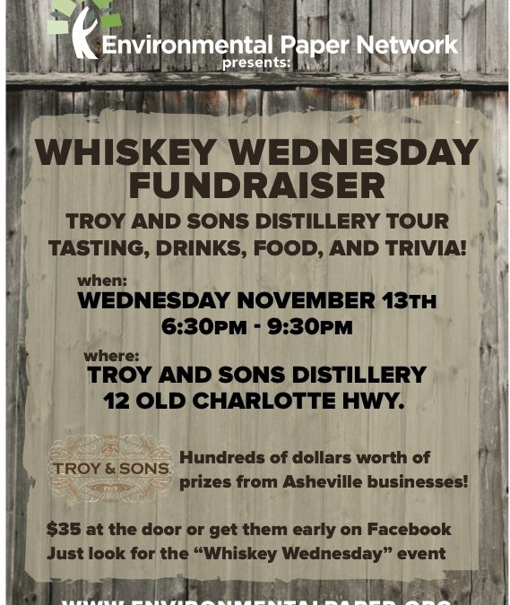 Join us November 13th for Trivia and Prizes at Whiskey Wednesday