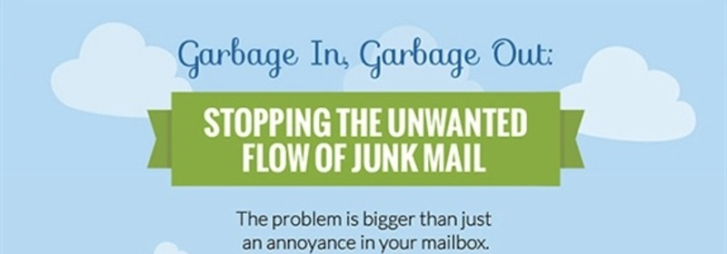 Infographic: Garbage In, Garbage Out: Stopping the Unwanted Flow of Junk Mail