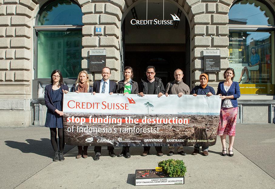 Banks beware of financing deforestation