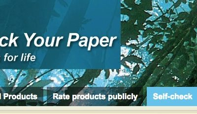 """WWF´s """"Environmental Self-check"""" – a free and confidential service for pulp and paper producers"""