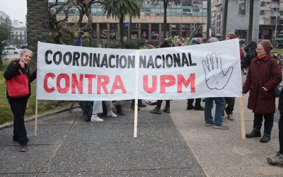 Uruguayan citizens opposing UPM's new pulp mill appeal to the Finnish government