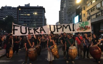 Thousands march again in Montevideo against UPM pulp mill
